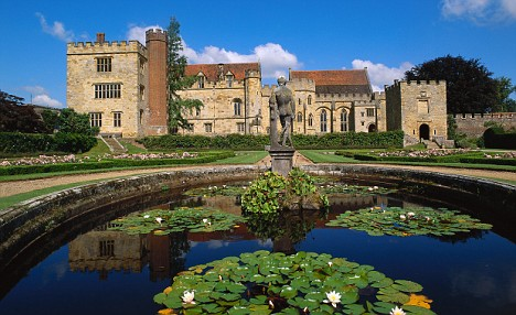 Penshurst Place and Lily Pond