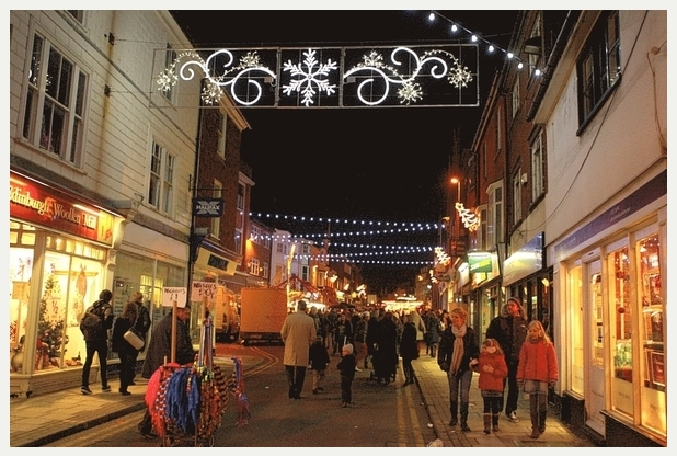 Sevenoaks Christmas Lights